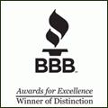 BBB Winner of Distinction
