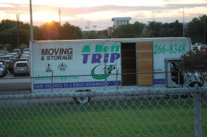A Better Tripp Moving & Storage recently helped the Cy-Creek High School cheerleaders with their food drive.