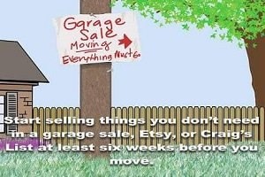Moving Garage Sale Small