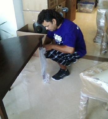 Packing Furniture For a Move
