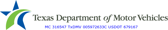 Texas Department of Motor Vehicles