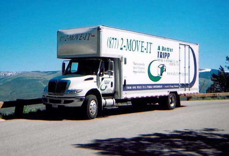 Small Movers Truck