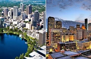 Orlando to Houston