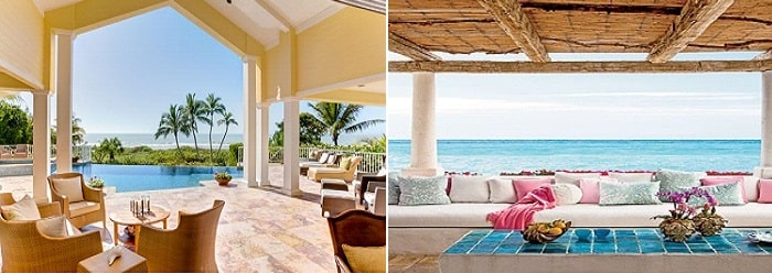 Beachfront Patios