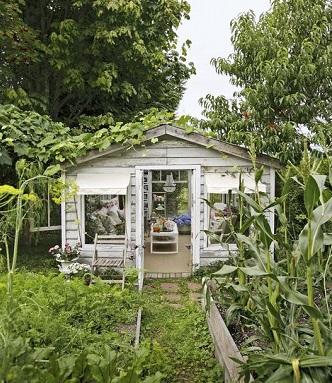 Garden shed design 2