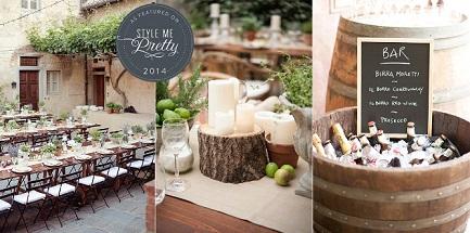 Backyard Wine Party